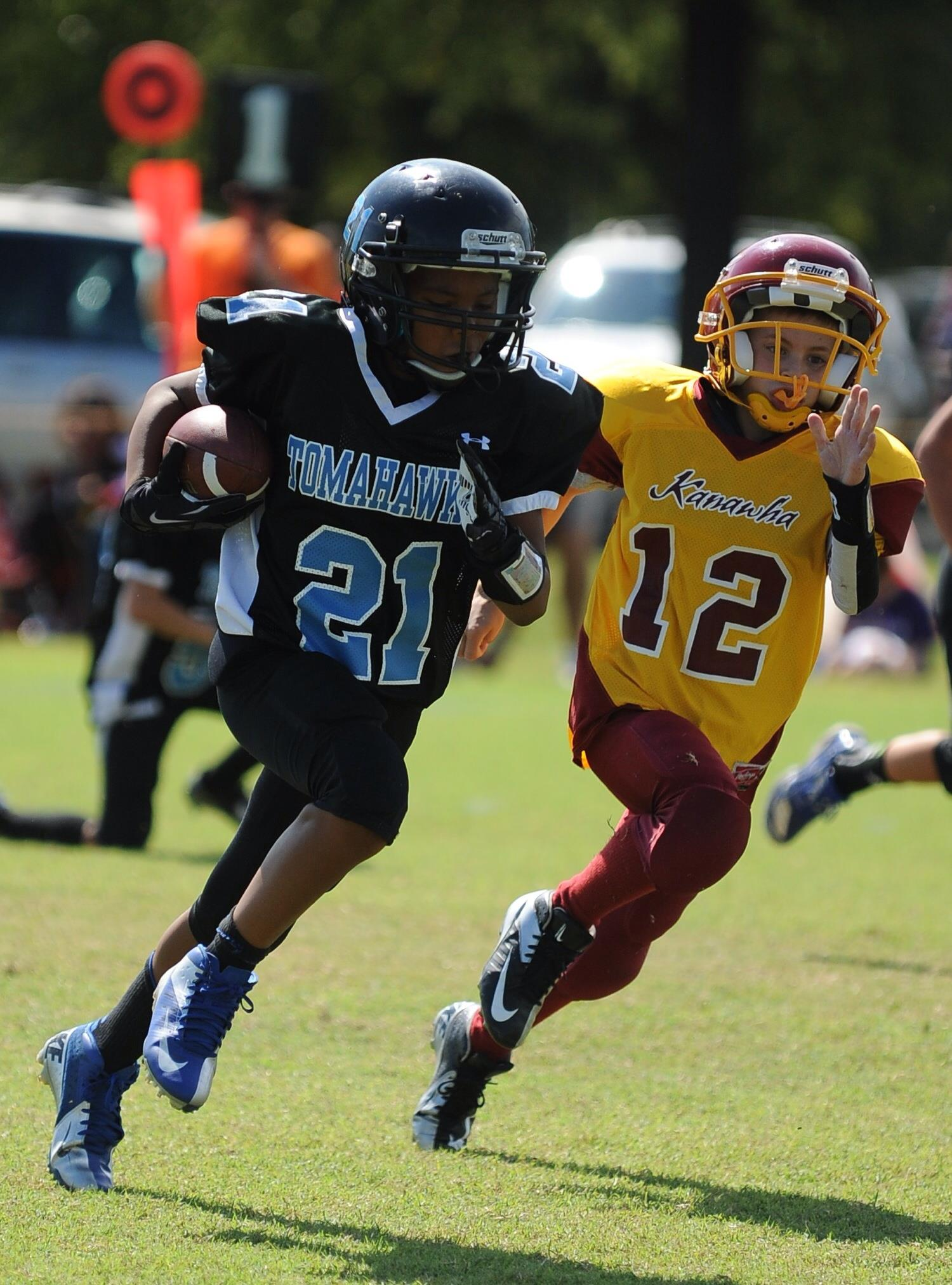 Pee Wee footbal - The Vermont Journal